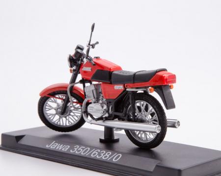 Macheta motocicleta cehoslovaca Java 350/638, scara 1:241