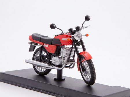 Macheta motocicleta cehoslovaca Java 350/638, scara 1:243