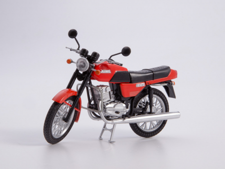 Macheta motocicleta cehoslovaca Java 350/638, scara 1:246