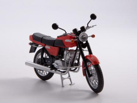 Macheta motocicleta cehoslovaca Java 350/638, scara 1:2410