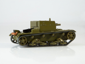 Macheta tanc rusesc AT-1, scara 1:433