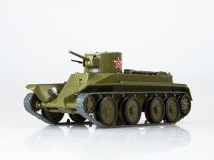 Macheta tanc rusesc BT-2, scara 1:430
