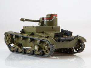 Macheta tanc rusesc HT-26, scara 1:433