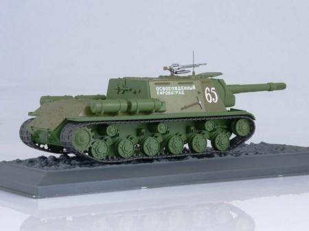 Macheta tanc rusesc ISU-152 din 1944, scara 1:43 [1]
