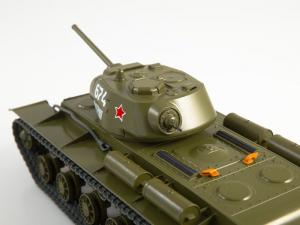 Macheta tanc rusesc KV-1S, scara 1:432