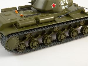 Macheta tanc rusesc KV-1S, scara 1:433