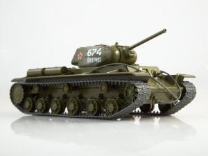 Macheta tanc rusesc KV-1S, scara 1:430