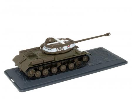 Macheta tanc rusesc IS-2 din 1943, scara 1:43 [1]