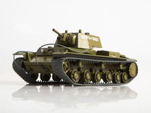Macheta tanc rusesc KV-8, scara 1:43 [0]