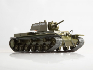 Macheta tanc rusesc KV-8, scara 1:43 [1]
