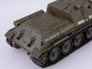 Macheta tanc rusesc SU-100, scara 1:433