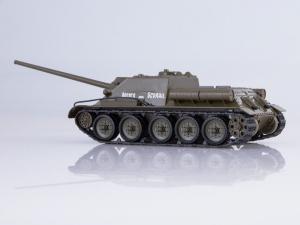 Macheta tanc rusesc SU-100, scara 1:431