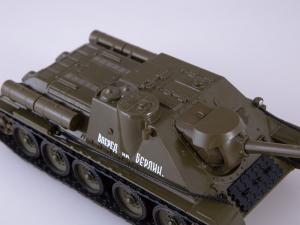 Macheta tanc rusesc SU-100, scara 1:432
