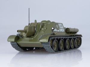 Macheta tanc rusesc SU-122, scara 1:432