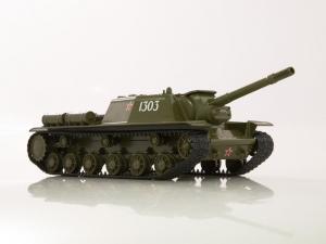 Macheta tanc rusesc SU-152, scara 1:431
