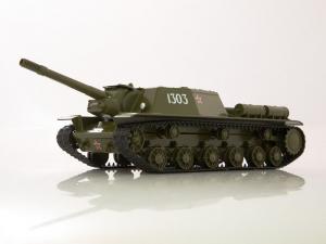 Macheta tanc rusesc SU-152, scara 1:430