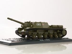 Macheta tanc rusesc SU-152, scara 1:433