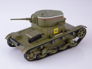 Macheta tanc rusesc T-26 1933, scara 1:432