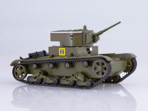 Macheta tanc rusesc T-26 1933, scara 1:430