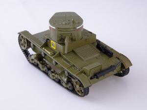 Macheta tanc rusesc T-26 1933, scara 1:433