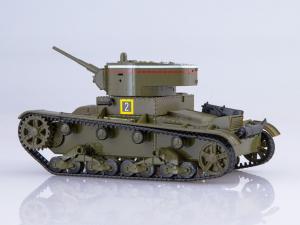 Macheta tanc rusesc T-26 1933, scara 1:431