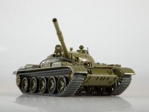 Macheta tanc rusesc T-62, scara 1:430