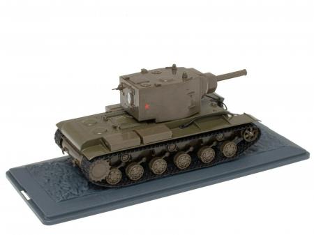 Macheta tanc rusesc KV-2 din 1941, scara 1:43 [1]