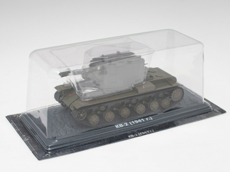 Macheta tanc rusesc KV-2 din 1941, scara 1:43 [2]
