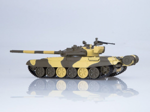 Macheta tanc rusesc T-72A, scara 1:431