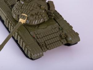 Macheta tanc rusesc T-72B, scara 1:434