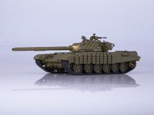 Macheta tanc rusesc T-72B, scara 1:430