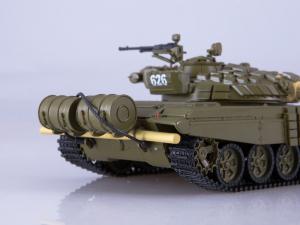 Macheta tanc rusesc T-72B, scara 1:433