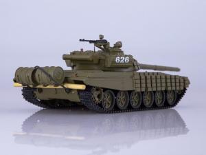Macheta tanc rusesc T-72B, scara 1:431
