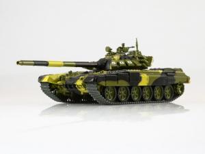 Macheta tanc rusesc T-72B3, scara 1:430