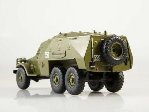 Macheta transportor blindat rusesc BTR-152, scara 1:432