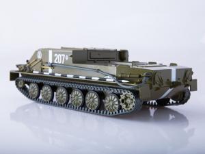 Macheta transportor blindat rusesc BTR-50, scara 1:433