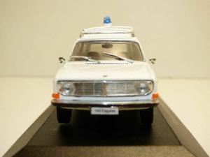 Macheta Volvo 145 Express 1969 ambulanta, 1:432