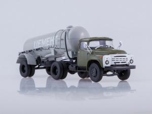 Macheta ZIL-130V1 cu cimentruc TC-4 scara 1:434