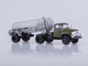Macheta ZIL-130V1 cu cimentruc TC-4 scara 1:431