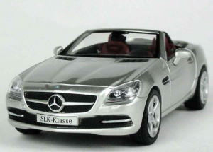 Mercedes Benz SLK 2011 (R172), scara 1:430