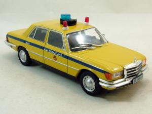 Macheta auto FMercedes Benz W116, militia sovietica, scara 1:430
