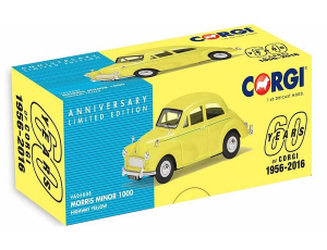 Macheta auto Morris Minor 1000, scara 1:431