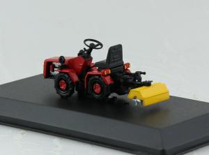 Macheta tractor MTZ-132 cu freza, Bielorusia, scara 1:431