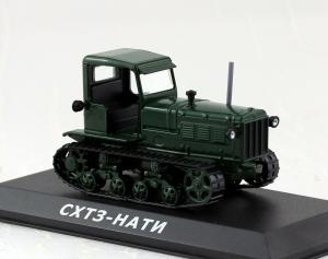 Macheta tractor ASHTZ NATI Rusia, scara 1:430