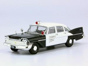 Macheta auto Plymouth Savoy, politia din Oklahoma, scara 1:430