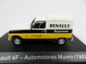 Macheta auto furgoneta Renault 4f, scara 1:431