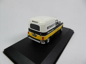 Macheta auto furgoneta Renault 4f, scara 1:432