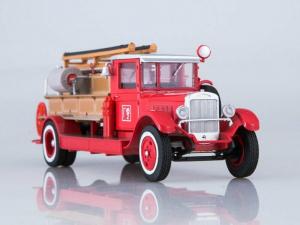 Macheta autospeciala pompieri PMZ-1 (ZIS 11) scara 1:431