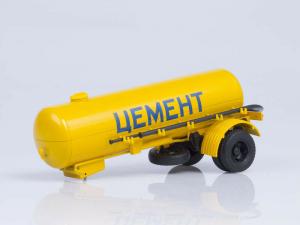 Macheta semiremorca cimentruc TC-4, scara 1:434
