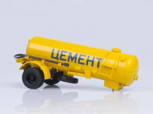 Macheta semiremorca cimentruc TC-4, scara 1:433